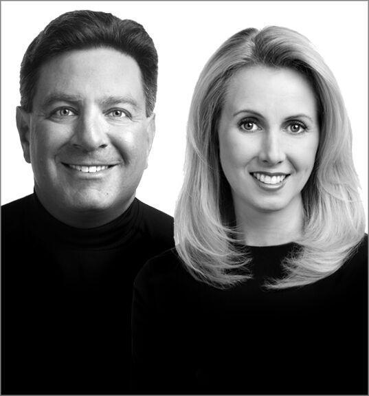 Faith Sprague and Brian Berliner